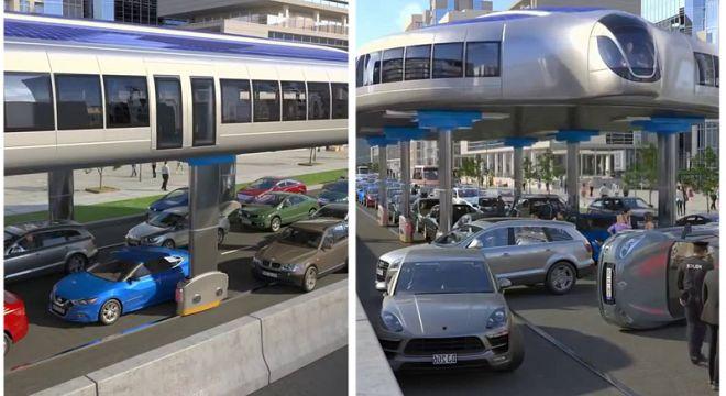 ახალი საცობების საწინააღმდეგო ავტობუსი, რომელიც 2035 წლისთვის გამოვა თბილისის ერთი ბოლოდან მეორეში 15 წუთში მიგიყვანთ