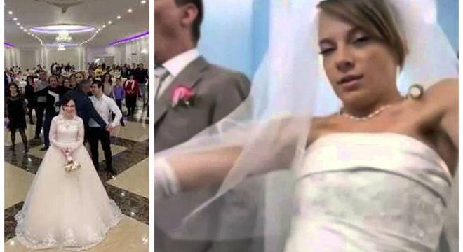 მთვრალმა გორელმა პატარძალმა შუა ქორწილში საქმრო სცემა