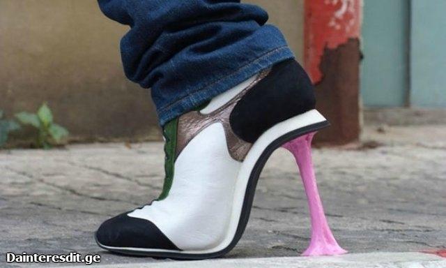 ახალი, ორიგინალური ქუსლიანი ფეხსაცმელები (30 ფოტო)