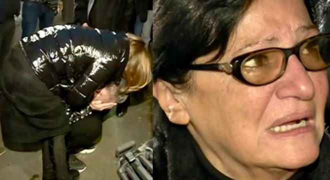 ატირებული ნიკა გვარამია და მარინა ბერიძე  -  ემოციური  კადრები  (ვიდეო)
